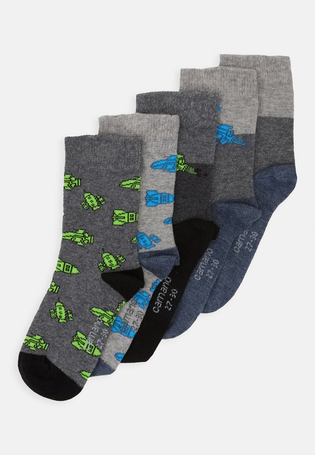 ONLINE CHILDREN SOCKS  5 PACK - Socks - denim melange