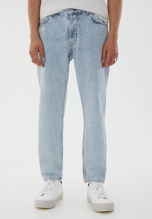 Jeansy Relaxed Fit - blue-black denim