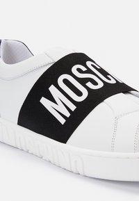 MOSCHINO - Trainers - white - 4
