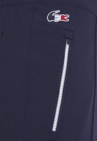 Lacoste Sport - OLYMP PANT - Träningsbyxor - navy blue/white - 0