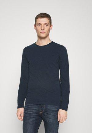 ANTON CREW - T-shirt print - dark blue