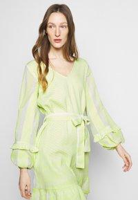 CECILIE copenhagen - LIV - Day dress - avocado green - 3
