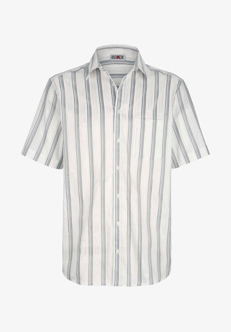 Roger Kent - Shirt - weiß silberfarben