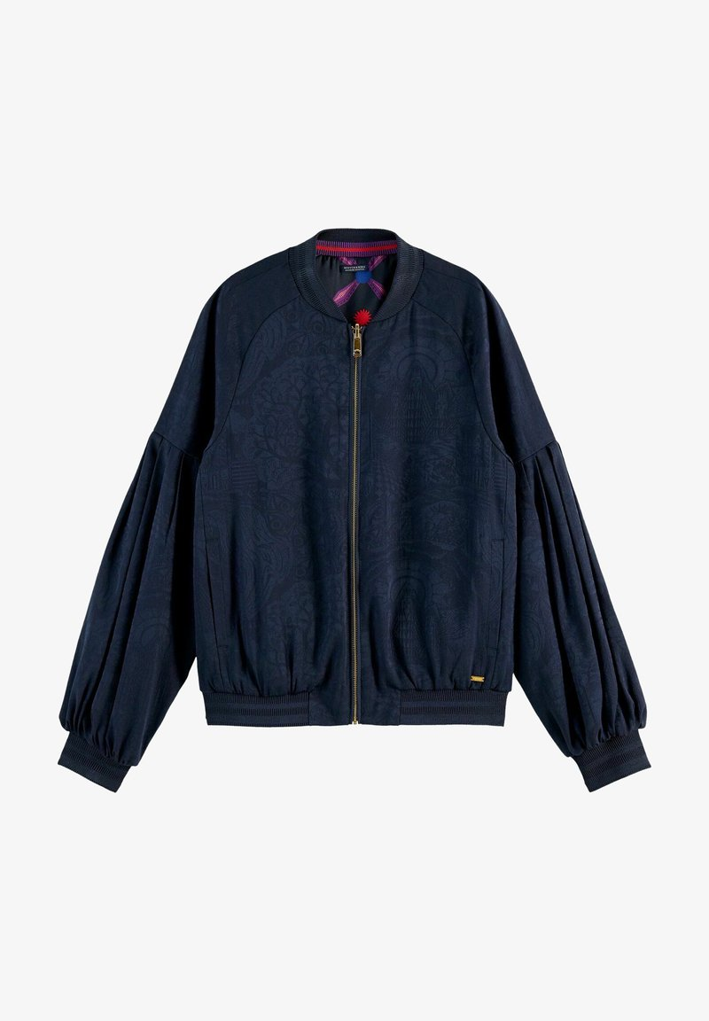 Scotch & Soda - Bomber Jacket - blue
