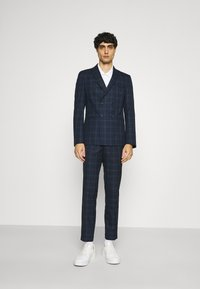Viggo - TENN DOUBLE BREASTED SUIT - Oblek - navy - 0