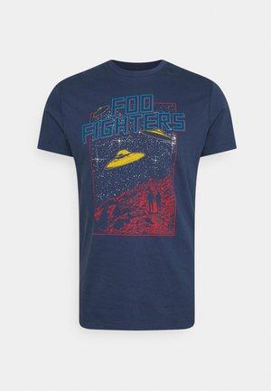 FOO FIGHTERS - T-shirt med print - dark blue