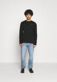 Jack & Jones PREMIUM - JPRBLA PARADOX CREW NECK - Sweatshirt - black - 1