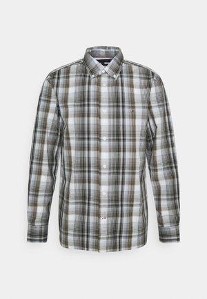 LARGE CHECK SHIRT - Shirt - iron grey/multi