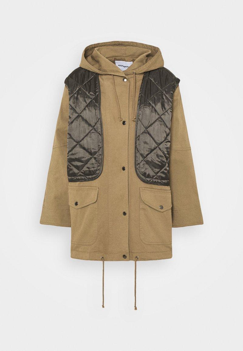H2O Fagerholt - FIELD JACKET - Krátký kabát - khaki
