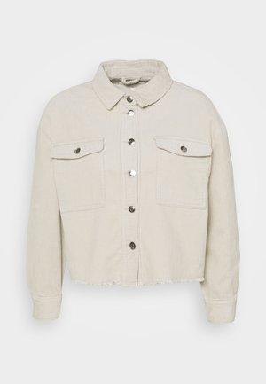ONLMARINA BITTEN LIFE - Summer jacket - pumice stone