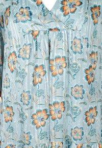 Zizzi - FLORAL PRINT  - Day dress - light blue - 5