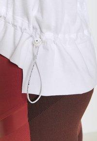 adidas by Stella McCartney - GRAPHIC TEE - Print T-shirt - white - 6