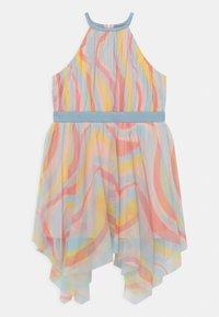 Anaya with love - HIGH NECK HANKY HEM - Koktejlové šaty/ šaty na párty - multi-coloured - 0