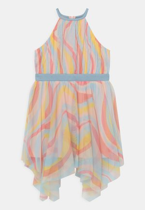 HIGH NECK HANKY HEM - Vestido de cóctel - multi-coloured
