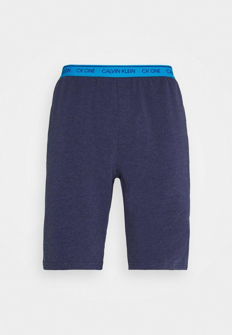 Calvin Klein Underwear - LOUNGE SLEEP - Pyjama bottoms - blue