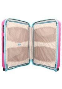 Roncato - BOX YOUNG - Wheeled suitcase - azzurro magenta - 4