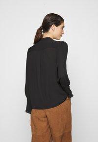 Selected Femme - SLFLIVIA - Blouse - black - 2