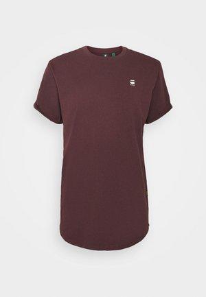 LASH - T-shirt basic - dark fig