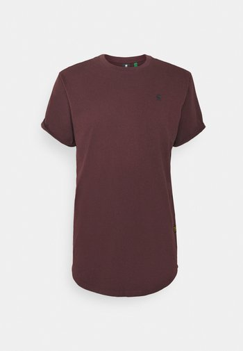 LASH R T S\S - T-shirt - bas - dark fig