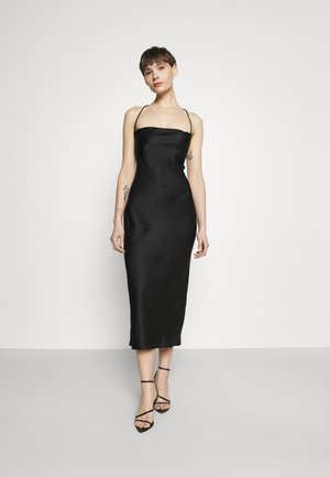 VERONIQUE MIDI DRESS - Occasion wear - black