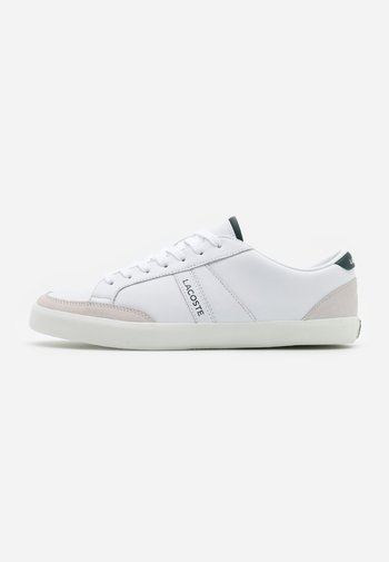 COUPOLE - Sneakers - white/dark green