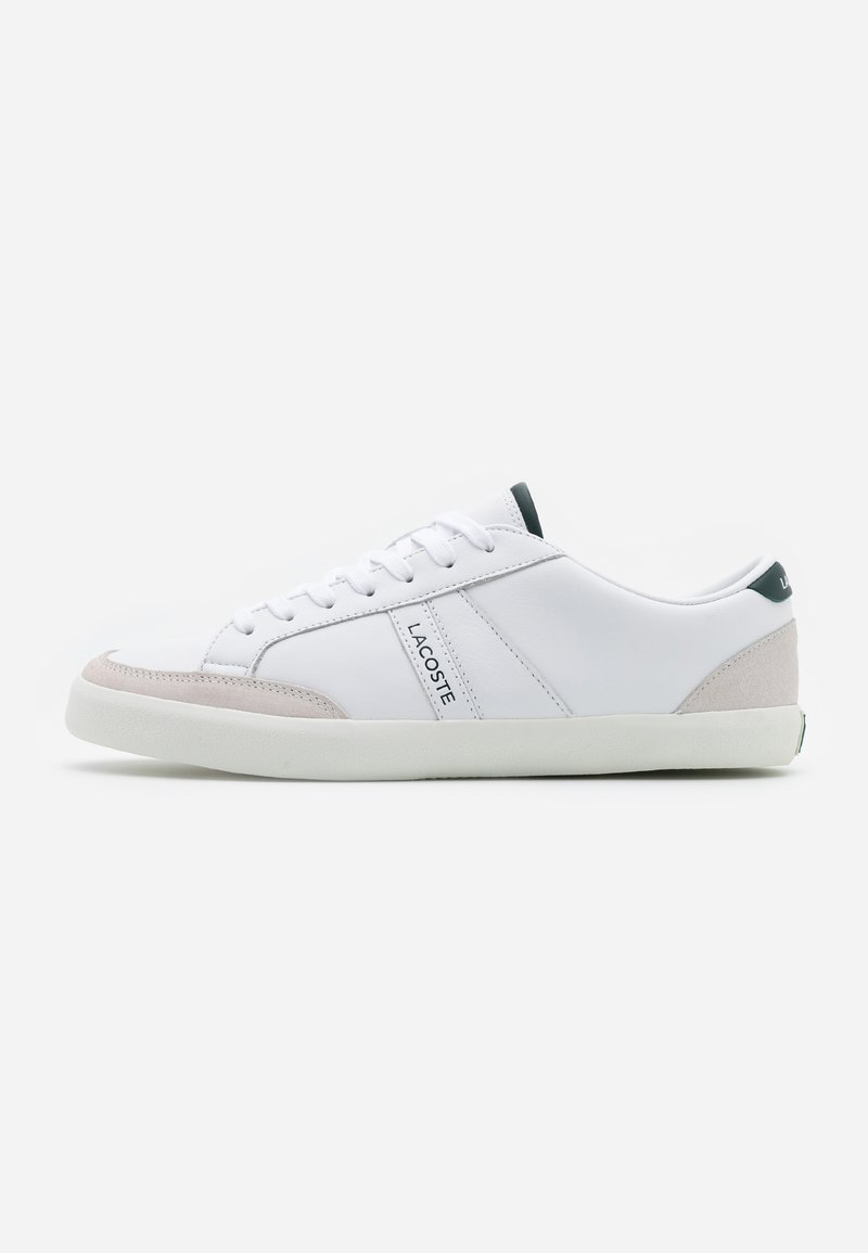 Lacoste - COUPOLE - Sneakers - white/dark green