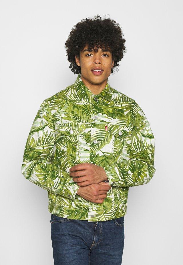 VINTAGE FIT TRUCKER UNISEX - Veste en jean - multicolor