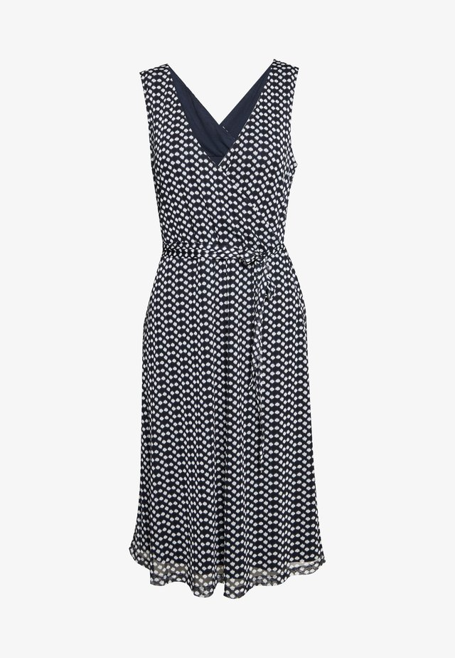 DRESS - Korte jurk - navy