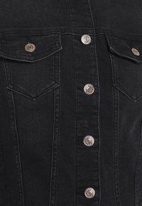 ONLY Petite - ONLTIA LIFE JACKET - Kurtka jeansowa - black denim - 2