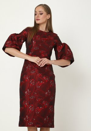 ALLTAGS DEGA - Cocktail dress / Party dress - wein rot, rot
