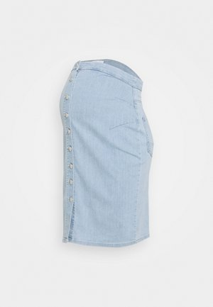 MLVILLA SKIRT - Falda de tubo - light blue denim