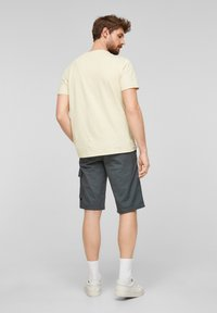 s.Oliver - Print T-shirt - yellow - 2