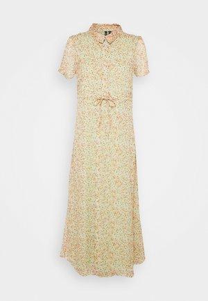 VMKAY ANKLE SHIRT DRESS PETITE - Maxi dress - laurel green