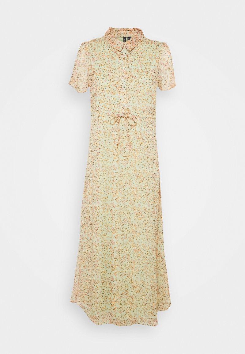 Vero Moda Petite - VMKAY ANKLE SHIRT DRESS PETITE - Maxi dress - laurel green