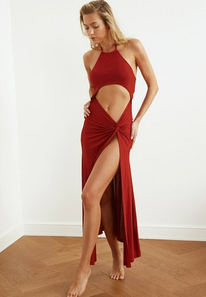 Cocktail dress / Party dress - orange