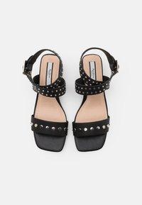 Pepe Jeans - ROMY STUDS - Sandals - black - 4