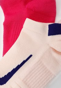 Nike Performance - MULTIPLIER MAX 2 PACK - Sports socks - pink/off white - 1