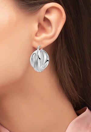 Earrings - silberfarben poliert