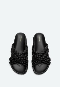 Uterqüe - Platform sandals - black - 2
