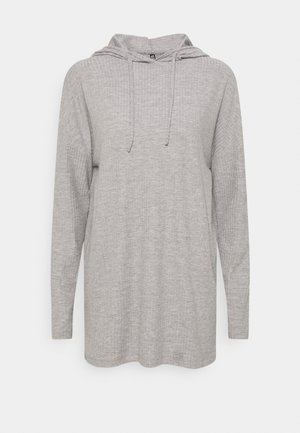 PCRIBBI  - Long sleeved top - light grey melange