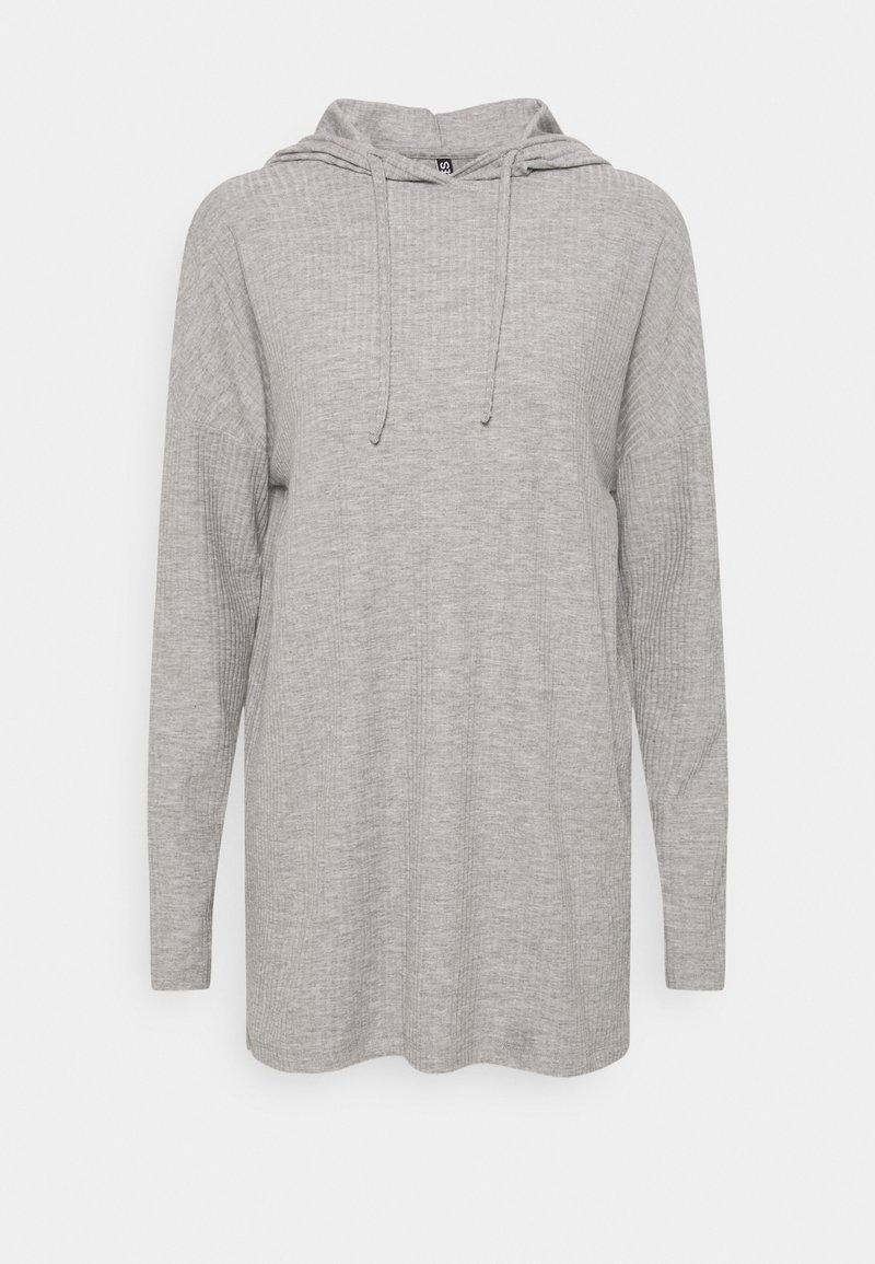 PIECES Tall - PCRIBBI  - Long sleeved top - light grey melange