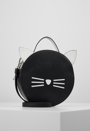 SHOULDER BAG - Across body bag - black/white