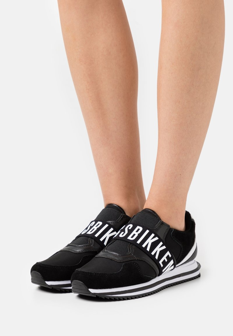 Bikkembergs - HEANDRA - Sneakers laag - black/white
