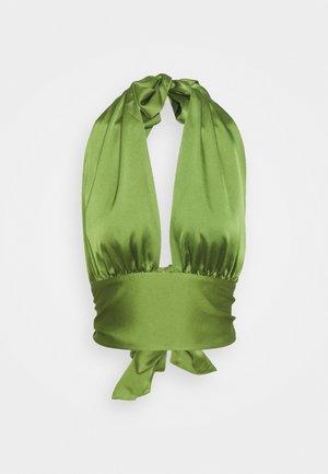 CINDY - Topper - cedar green