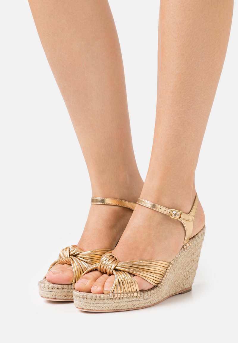 Loeffler Randall - PRIYA - Sandály na platformě - gold