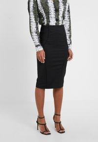 Patrizia Pepe - Pencil skirt - nero - 0