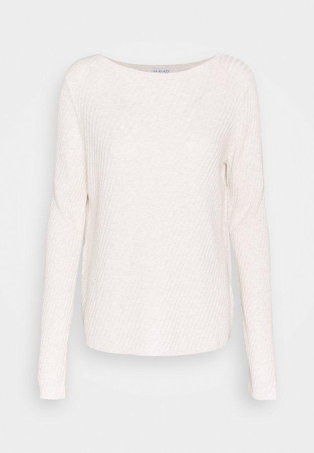 Maglione - white melange