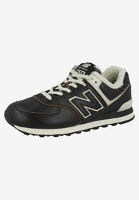 New Balance - ML574 - Matalavartiset tennarit - black - 2