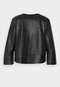 Opus - JATRI - Faux leather jacket - black - 1