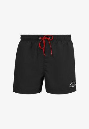 Swimming shorts - black/red